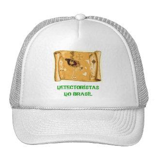 Cap detectoristas of Brazil map Trucker Hat