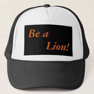 Cap: Elk Valley High School: Be a Lion! Trucker Hat