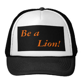 Cap: Elk Valley High School: Be a Lion! Trucker Hat