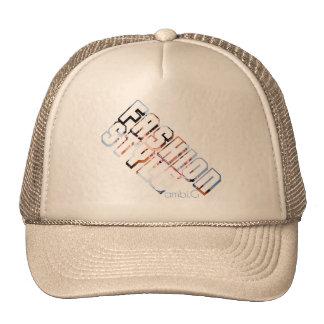 cap fashion style design by ambi. G Trucker Hat