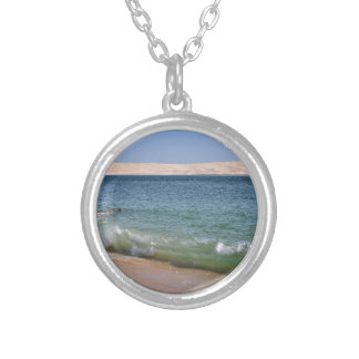 Cap-Ferret in France Silver Plated Necklace