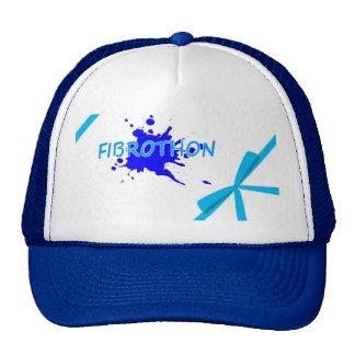 Cap fibrothon and node trucker hat