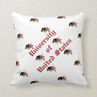Cap & Gown Keepsake Throw Pillow
