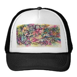 cap grafiti trucker hat