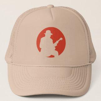 cap - hat guitarist silhouette
