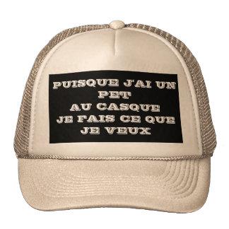 cap humour trucker hat