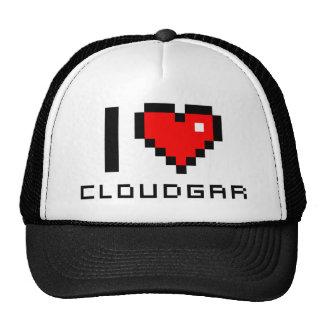 Cap I love CLOUDGAR Trucker Hat