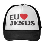 Cap - I love Jesus Trucker Hat
