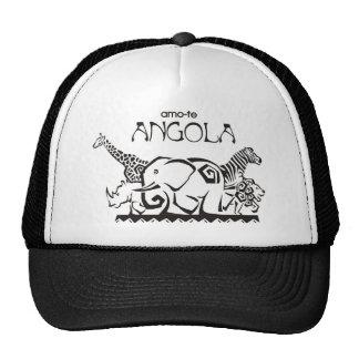 Cap - I love you Angola - Animal Trucker Hat