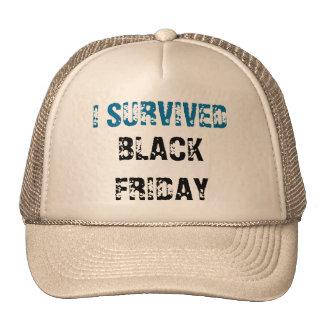 CAP - I SURVIVED BLACK FRIDAY TRUCKER HAT