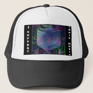 """Cap: Indie Support """"Outside the Box"""" Trucker Hat"""