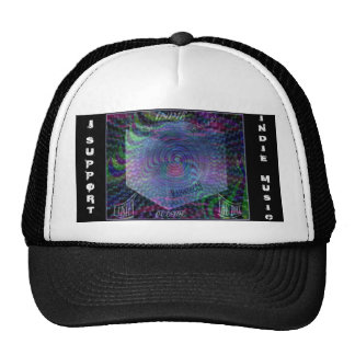 "Cap: Indie Support ""Outside the Box"" Trucker Hat"