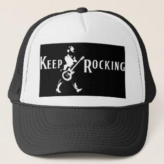 """Cap """"Keep Rocking """""""