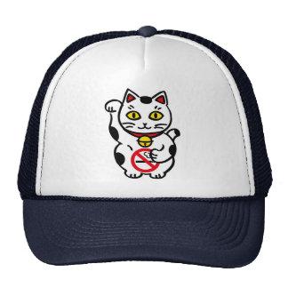 cap maneki_cat trucker hat