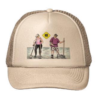 Cap metal detector in stress 01 trucker hat