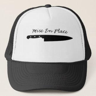 Cap Mise Truck driver en Place
