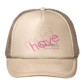 cap must cuts design by ambi. G Trucker Hat