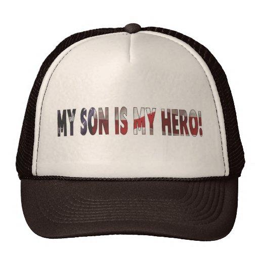 """Cap """"My Son Is My Hero"""" Mesh Hats"""