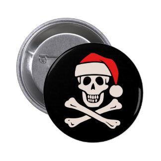 Cap n Claus Pin