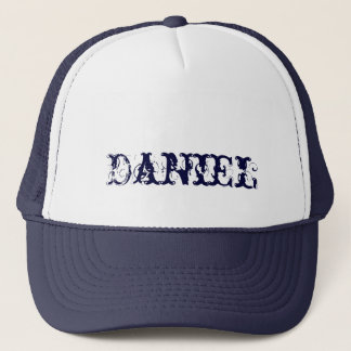 Cap of Daniel with customized name