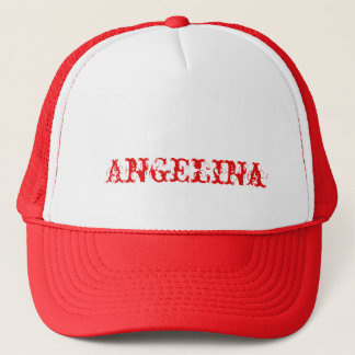 Cap of order with customized name