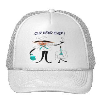"Cap   ""Our Head chef ! "" Trucker Hat"