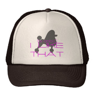 cap poddle design by ambi. G Trucker Hat