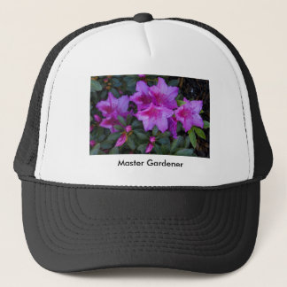 "Cap, ""Purple Azalea,"" Trucker Hat"