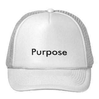 CAP purpose Trucker Hat