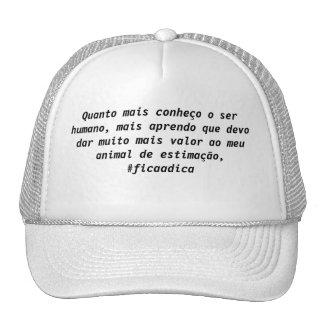 Cap reflection trucker hat