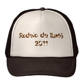 Cap Roundup of Brown Ibaté Trucker Hat