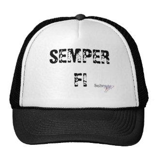 cap SABBRAGE SEMPER FI Trucker Hat