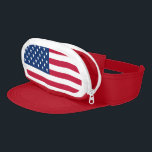 "Cap-Sac/American Flag Visor<br><div class=""desc"">Cap-Sac/American Flag Are you ready to have all of your fashion dreams come true? Well buckle up, sweetheart, because we are proud to introduce the Cap-Sac, the one and only fanny pack for your head. This is not a joke, it&#39;s the beautiful synergy of total function and style. Cap-Sac provides...</div>"