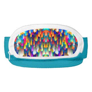 Cap-Sac Visor Colorful digital art splashing