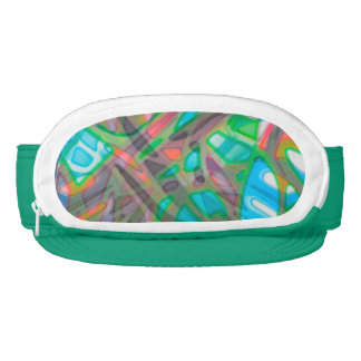 Cap-Sac Visor Colorful Stained Glass