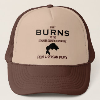 (CAP) Schuyler Field & Stream Party: Elect Burns Trucker Hat