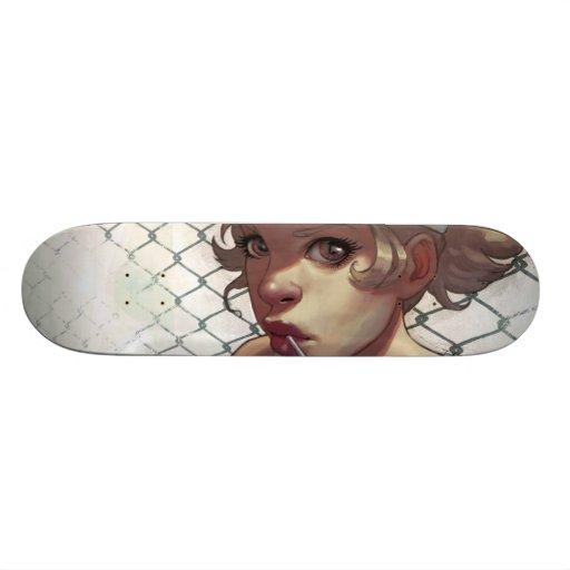 Cap Skate Board Deck
