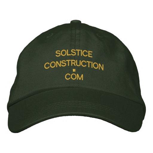 Cap - SOLSTICECONSTRUCTION.com