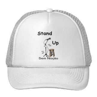 Cap Stand Up Trucker Hat