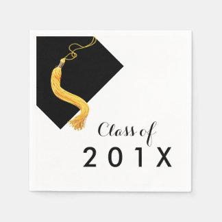 Cap & Tassel Graduation Party Napkin