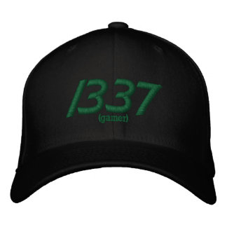 Cap the Elite - 1337 Embroidered Hat