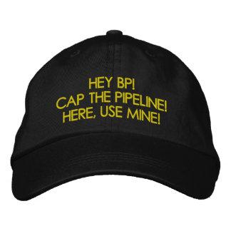 CAP THE PIPELINE ANTI-OIL CAP