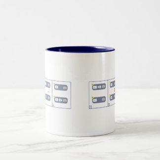 CAP Theorem Two-Tone Coffee Mug