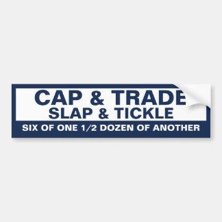Cap & Tickle Bumper Sticker