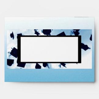 Cap Toss Lined 5x7 Envelope Grad Announcement