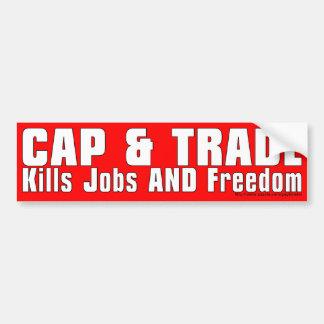 Cap & Trade-bumper Car Bumper Sticker