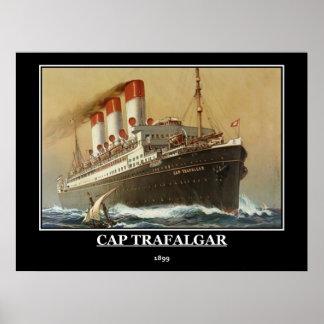 Cap Trafalgar 1899 Vintage Poster Print