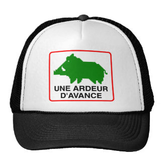 Cap truck-driver - a HEAT IN ADVANCE Trucker Hat