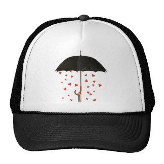 cap umbrella trucker hat