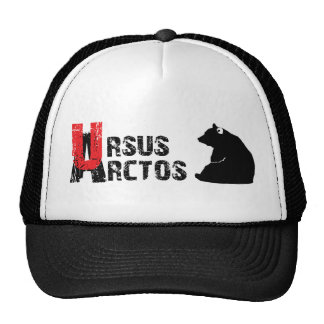 cap ursus arctos trucker hat